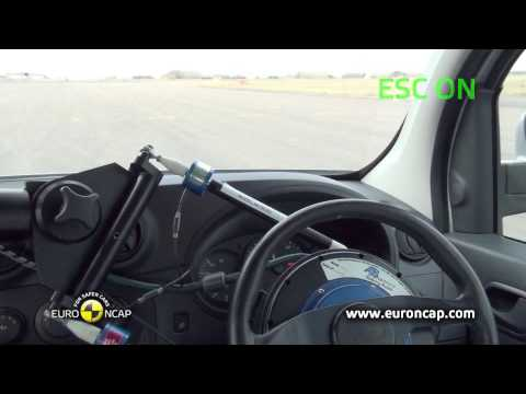 Euro NCAP | Mercedes Benz CITAN Kombi | 2013 | ESC Краш-тест