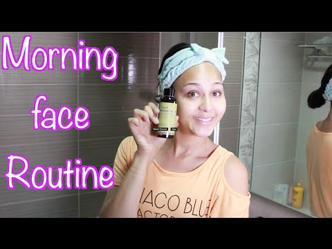 Face routine: Korean products