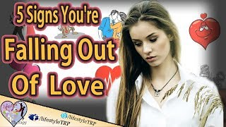 5 Signs You're Falling Out Of Love With Your Partner | animated video