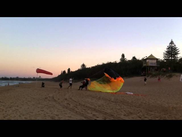 Skydivers at Currimundi Lake