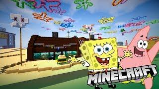 Minecraft: Bikini Bottom Tour from Spongebob!