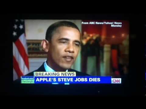 President Obama Talks about Steve Jobs