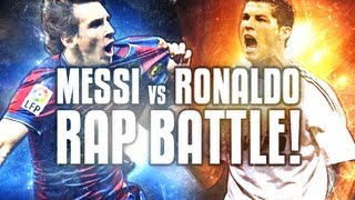 Messi VS Ronaldo -- Football Rap Battles #1