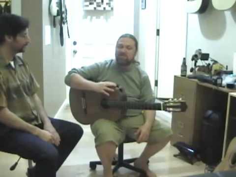 Flamenco-Lessons Webcast 4-24-09 Glenn Canin part 9
