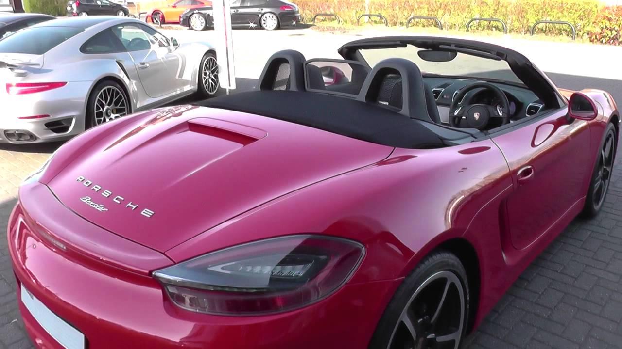 Boxster 2.7 Pdk Porsche Boxster 2.7 2dr Pdk