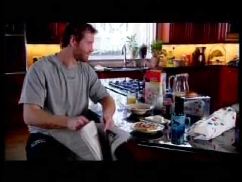 Joe Thornton on his MyNHL Commercial Video