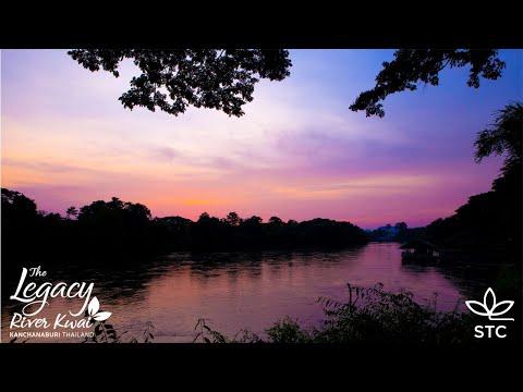 Eindrücke des Wohlbefindens,  Wellness & Gesundheit am Ufer des Kwai - The Legacy Kwai River Resort