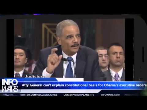 Attorney General Eric Holder Can't Explain Obama's Executive Orders
