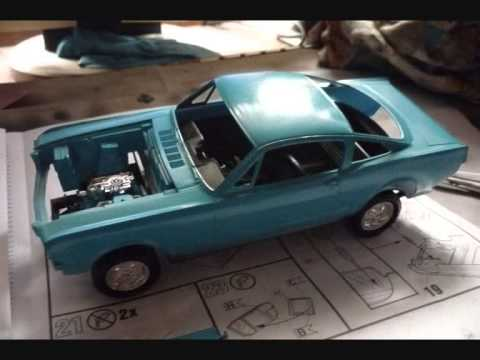 Build A Mustang >> 1966 Shelby Mustang GT 350 H 1/24 Revell - YouTube