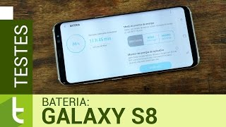 Autonomia do Galaxy S8 | Teste de bateria oficial do TudoCelular