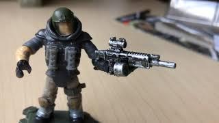 mega construx Call of Duty heroes serie 2 liberando  mini figuras