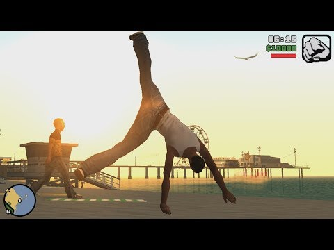 GTA San Andreas Best Parkour Mod