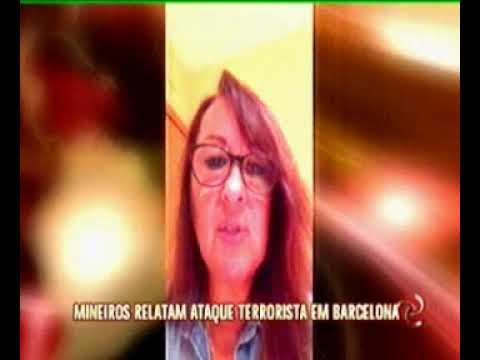 Mineiros relatam momentos de horror em Barcelona
