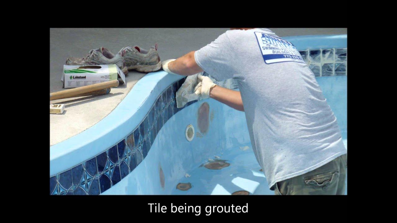 Fiberglass Pool Resurfacing Youtube