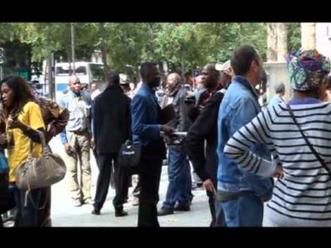 LES CONGOLAIS ET LES HUTUS CONTRE KAGAME EN FRANCE Le 12/Sept./2011