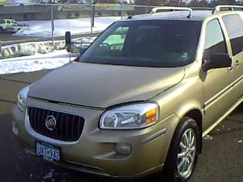 2005 buick terraza cxl youtube. Black Bedroom Furniture Sets. Home Design Ideas