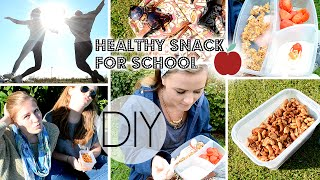 DIY Healthy And Affordable Back To School Lunches/Snacks!