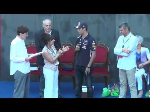 Premio Bandini 2014, premiazione di Daniel Ricciardo