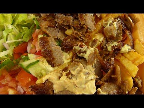 Döner Kebab Plate / Teller & Ayran (Berlin / Germany)