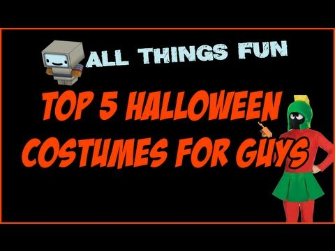 Halloween Costume Ideas 2013 - Top 5 Adult Halloween Costumes For Men