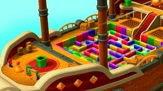 Mario Party 10 - Minigames - Mario vs Luigi vs Yoshi vs Daisy