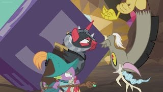 "Blind Reaction to: MLP FiM ""Dungeons & Discords"" S6 Ep17"