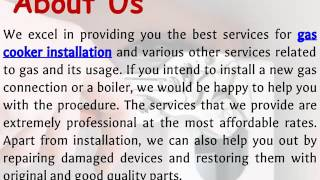 Professional Gas Cooker Installation Services