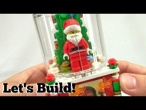 LEGO Snowglobe 40223 - Let's Build!