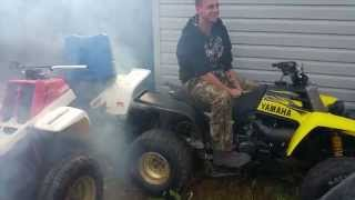 2003 Yamaha Banshee Cold Start