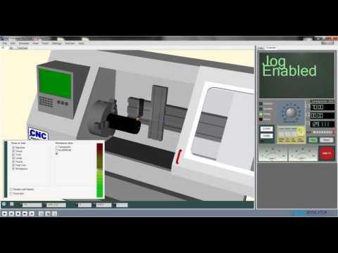 #4 PODSTAWY PROGRAMOWANIA G CODE CNC - CNCSimulator Pro - ROZPOCZĘCIE PRACY