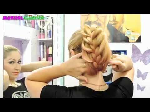 PEINADOS LINDAS COLETAS  DE CABALLO CON   TRENZAS PARA CADA DIA peinados  faciles Marisolguerita