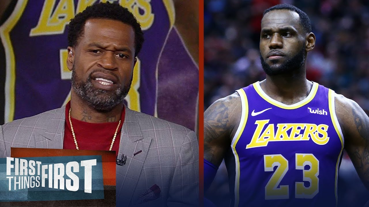 Stephen Jackson reacts to Walt Frazier criticizing LeBron James   NBA   FIRST THINGS FIRST