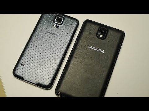Samsung Galaxy S5 vs Galaxy Note 3 - Quick Look!