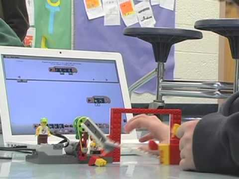Robotic Legos Teach Elementary School Students STEM Skills