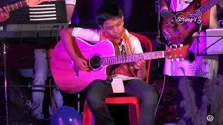NEELE NEELE AMBAR PAR ( kalaqar 1983 ) LIVE GUITAR INSTRUMENTAL VERSION 2017 || KISHORE KUMAR |