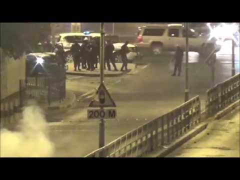 Bahrain : Strong & Violent Clashes Between Angry Resistance Movement and Riot Police
