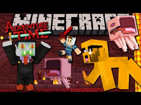 Minecraft: Adventure Time Map Quest in Ooo with Jake FINALE Ep.7 Nightosphere Knightmare