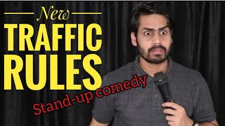 New traffic rules | Stand-up comedy | Dkc | Harish A Tiwari