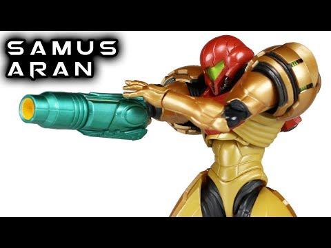 Figma SAMUS ARAN Metroid Prime 3: Corruption Action Figure Toy Review