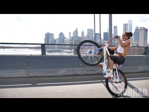 TAKING OVER THE MANHATTAN BRIDGE ON BIKES!