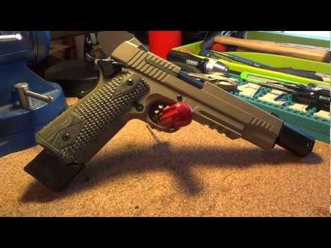 Sig Sauer Scorpion with Cerakote and Rowland .460 Conversion