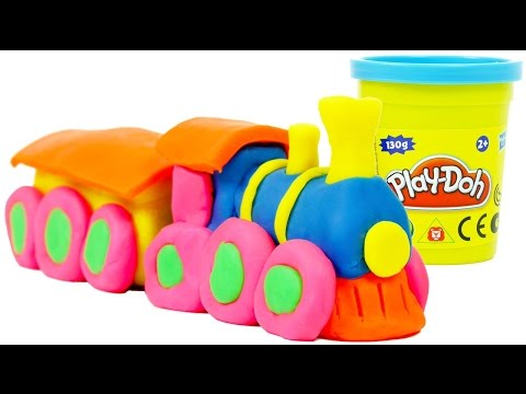 Play Doh Train
