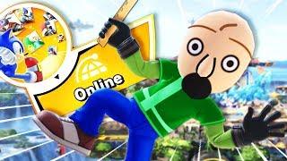 Baldi tries to battle online and gets ABSOULTELY DESTROYED! | Super Smash Bros Ultimate