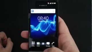 Unboxing - Sony Xperia S Black (German/Deutsch)