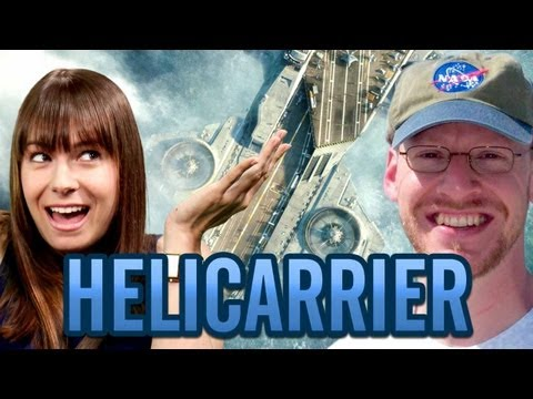 THE AVENGERS' S.H.I.E.L.D. Helicarrier – Fact or Fictional w/ Veronica Belmont