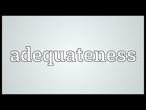 Header of adequateness