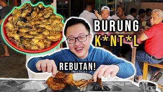 BURUNG INI SUSAH DICARI, TAPI SEKALI COBA PASTI MAU LAGI !! #KulinerSemarang