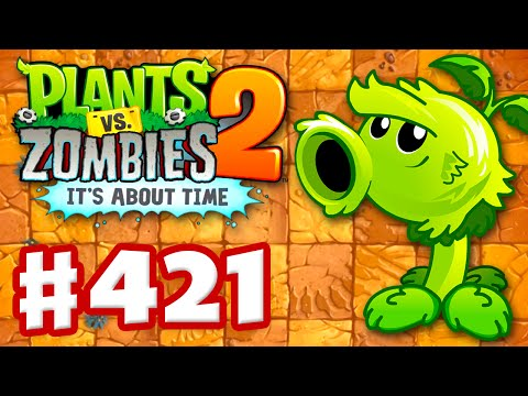 Plants vs. Zombies 2: It's About Time - Gameplay Walkthrough Part 421 - Primal Peashooter! (iOS)