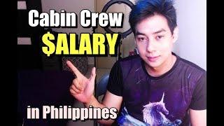 Cabin Crew Salary in Philippines (Magkano sweldo ng mga FA sa Pilipinas)