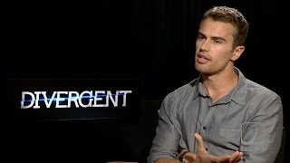 DIVERGENT star Theo James on why he is perfect for 'Four'